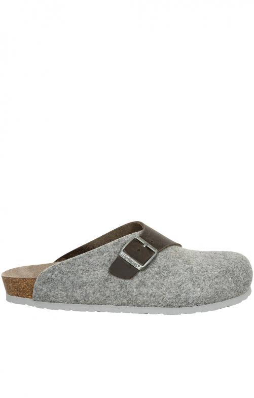 Pantoffeln G101559 BRANCO hellgrau
