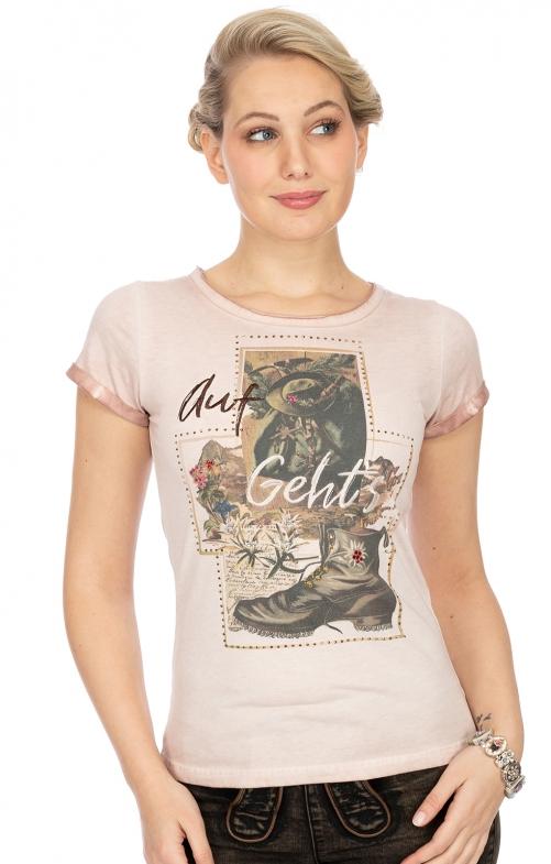 T-Shirt P17 - JOSEFINE altrosa