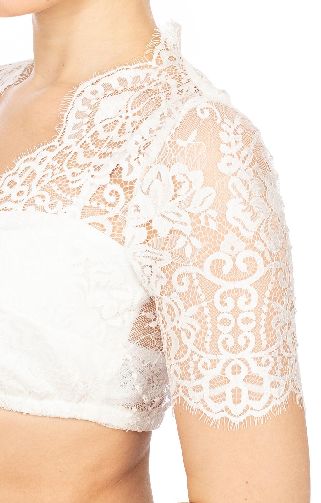 weitere Bilder von Traditional dirndl blouse MALINA-ELVIRA offwhite
