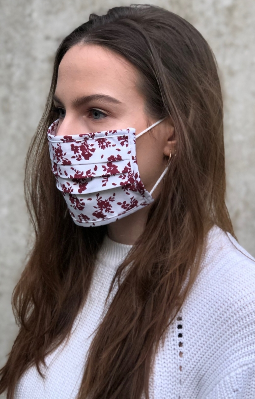 Face mask 2735-35 burgundy