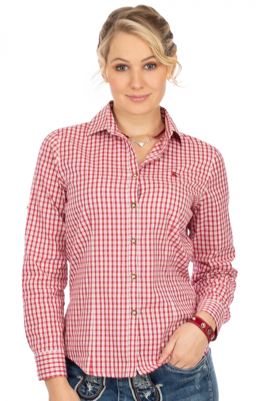 Bluse 450000-3729-34 rot