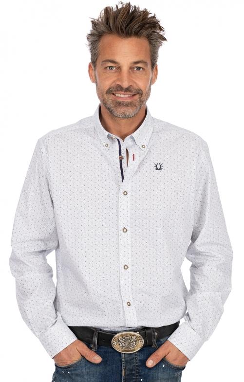 Langarmhemd SAMU hellblau