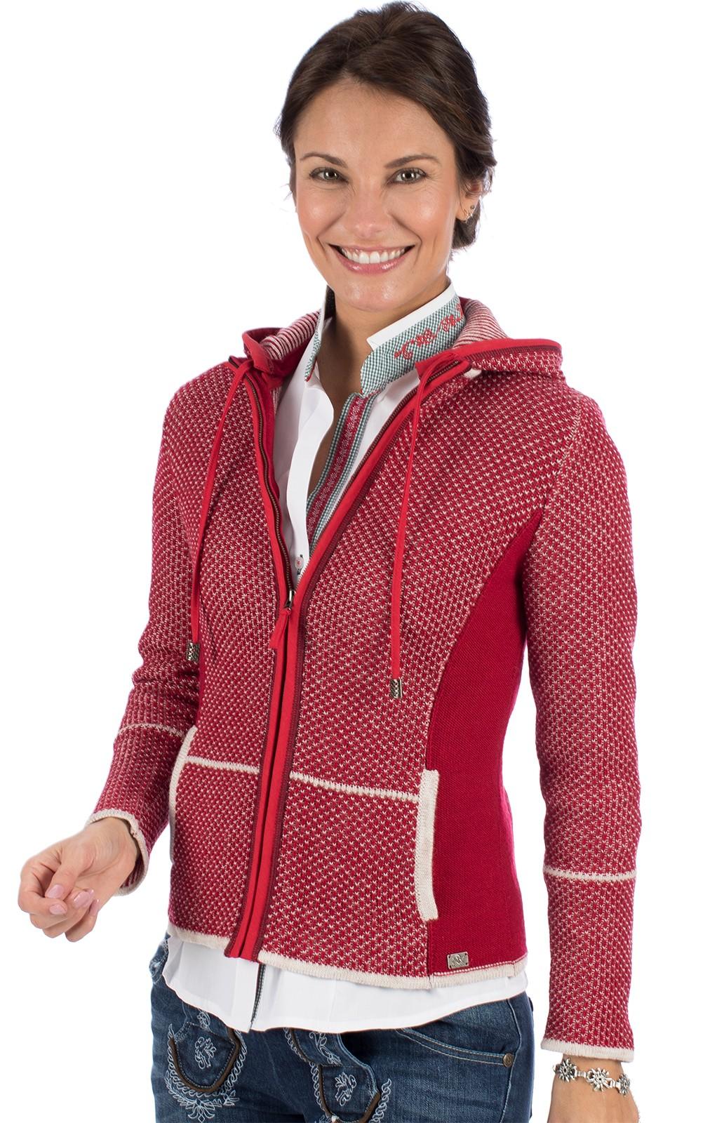 Spieth & Wensky Traditional Cardigan KULMBACH SJ red