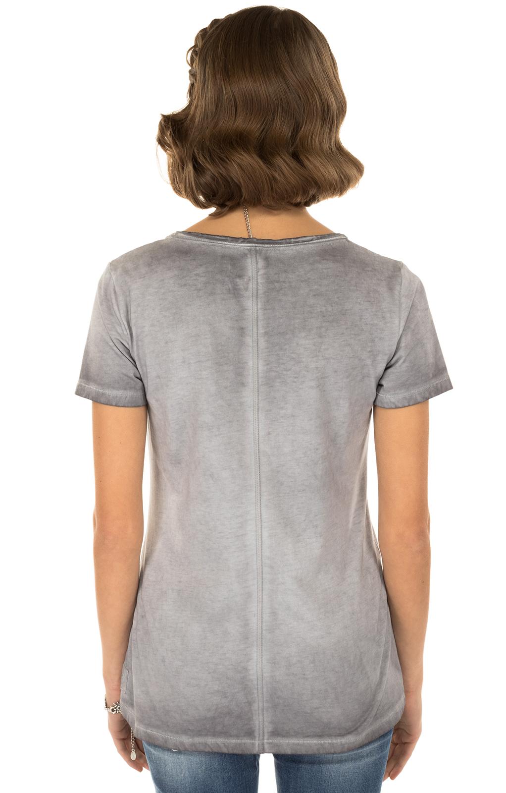 weitere Bilder von Trachten T-Shirt K04 EDELWEISS anthrazit