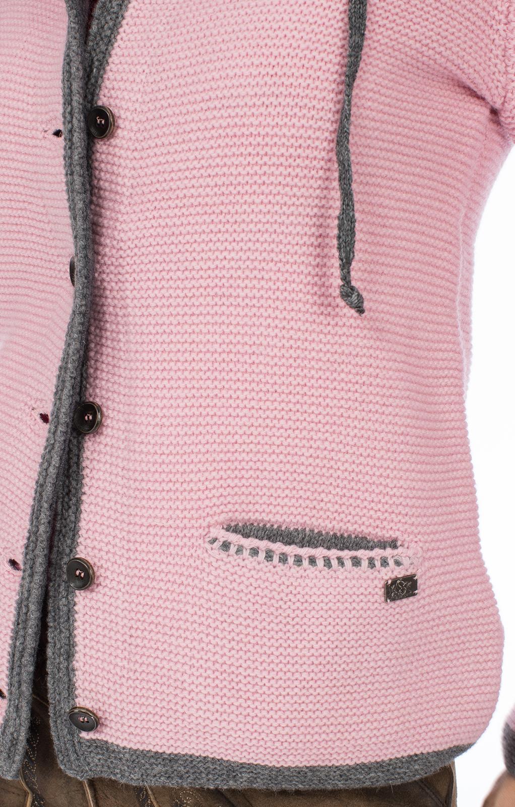 weitere Bilder von Giacca per Trachten Hallstatt SJ rosa chiaro