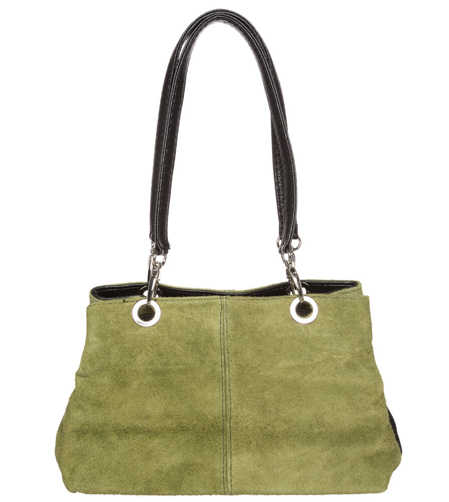 weitere Bilder von Trachtentasche TA30200 Leder mit Edelweiss, oliv