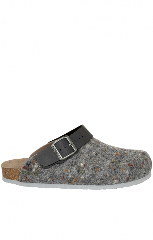 Traditional Slipper G101602 SHETLAND gray