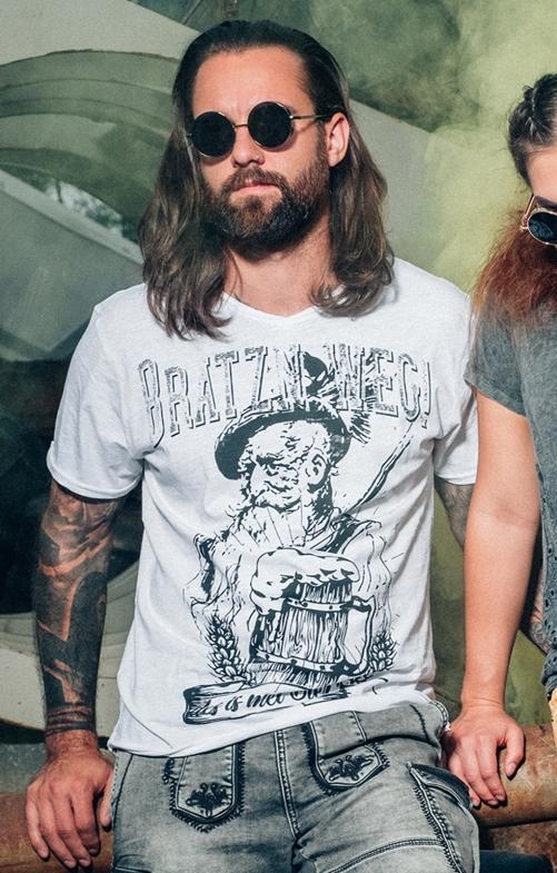 T-Shirt ERWIN weiß