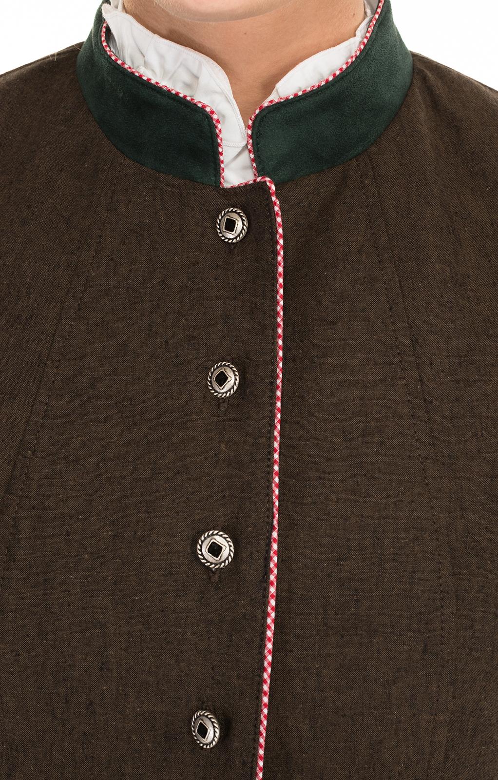 weitere Bilder von Trachtenjacke TARINA braun