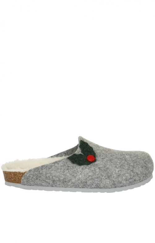 Traditional SlipperG101397 HELSINKI gray