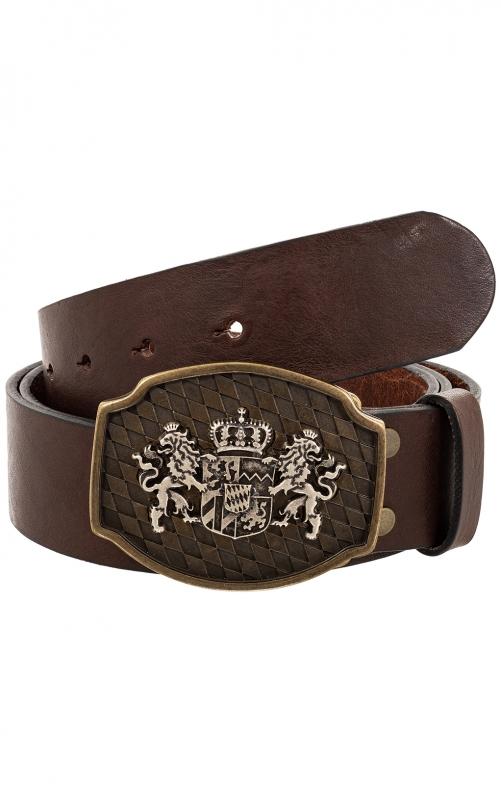 Trachten Belts 7840S125-11 dark brown
