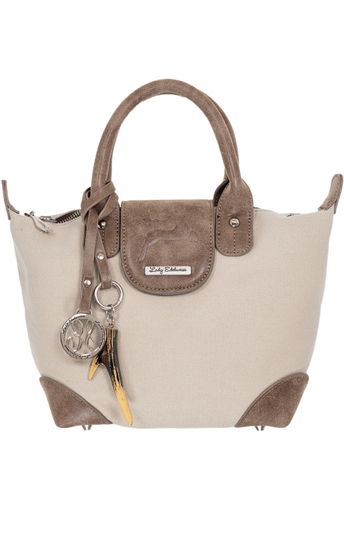 Traditional Handle bag 15008 gray