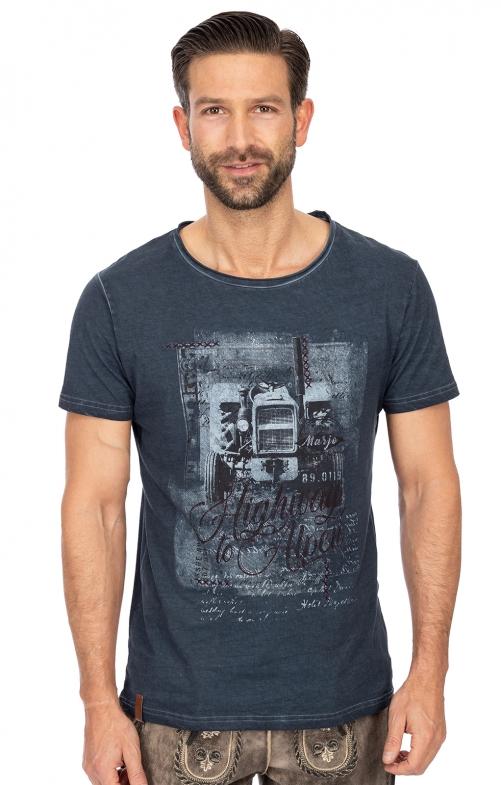 T-Shirt L08 - HARRY bluenight