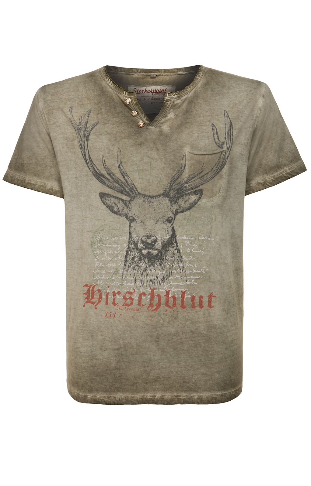weitere Bilder von Traditional German T-Shirt Pascal brown