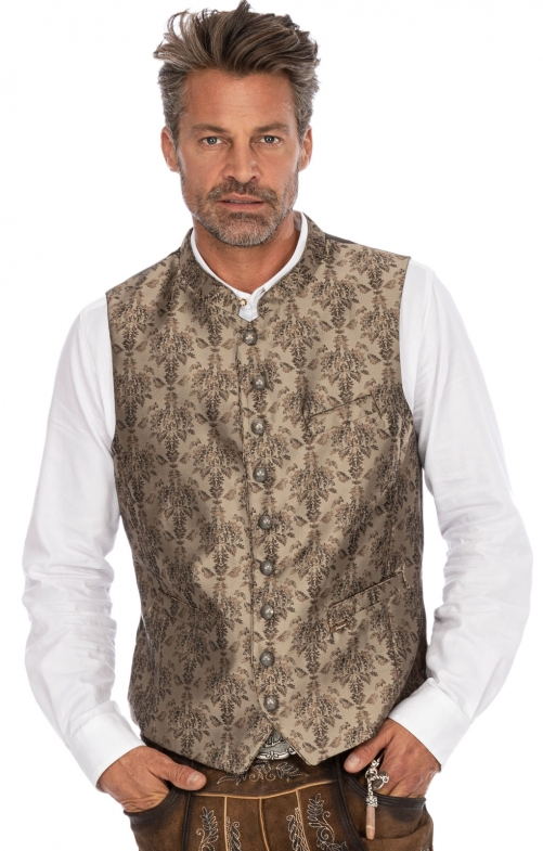 Tradition vest CLOONEY brown