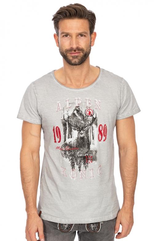 T-Shirt L05 - CHRISTIAN silber