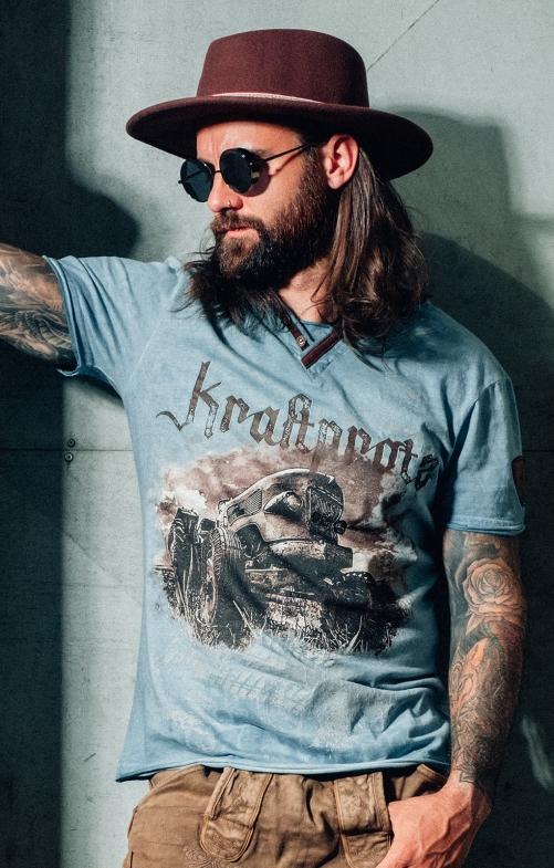 T-Shirt EVERETT türkis
