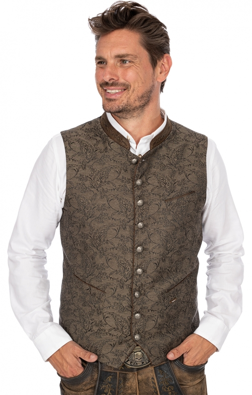 Tradition vest PEPE brown