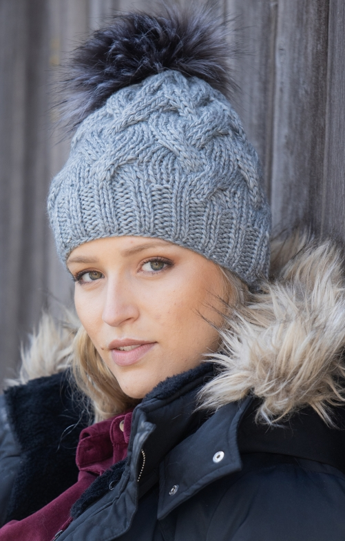 Cappelli tradizionali 54174KB grigio chiaro