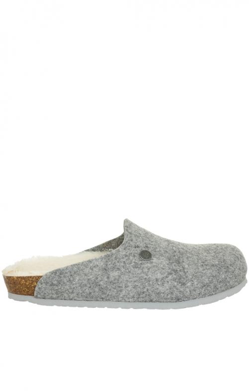 Pantoffeln G101652 HELSINKI hellgrau