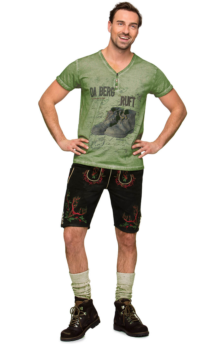 weitere Bilder von Traditional German T-Shirt Billy 2 green