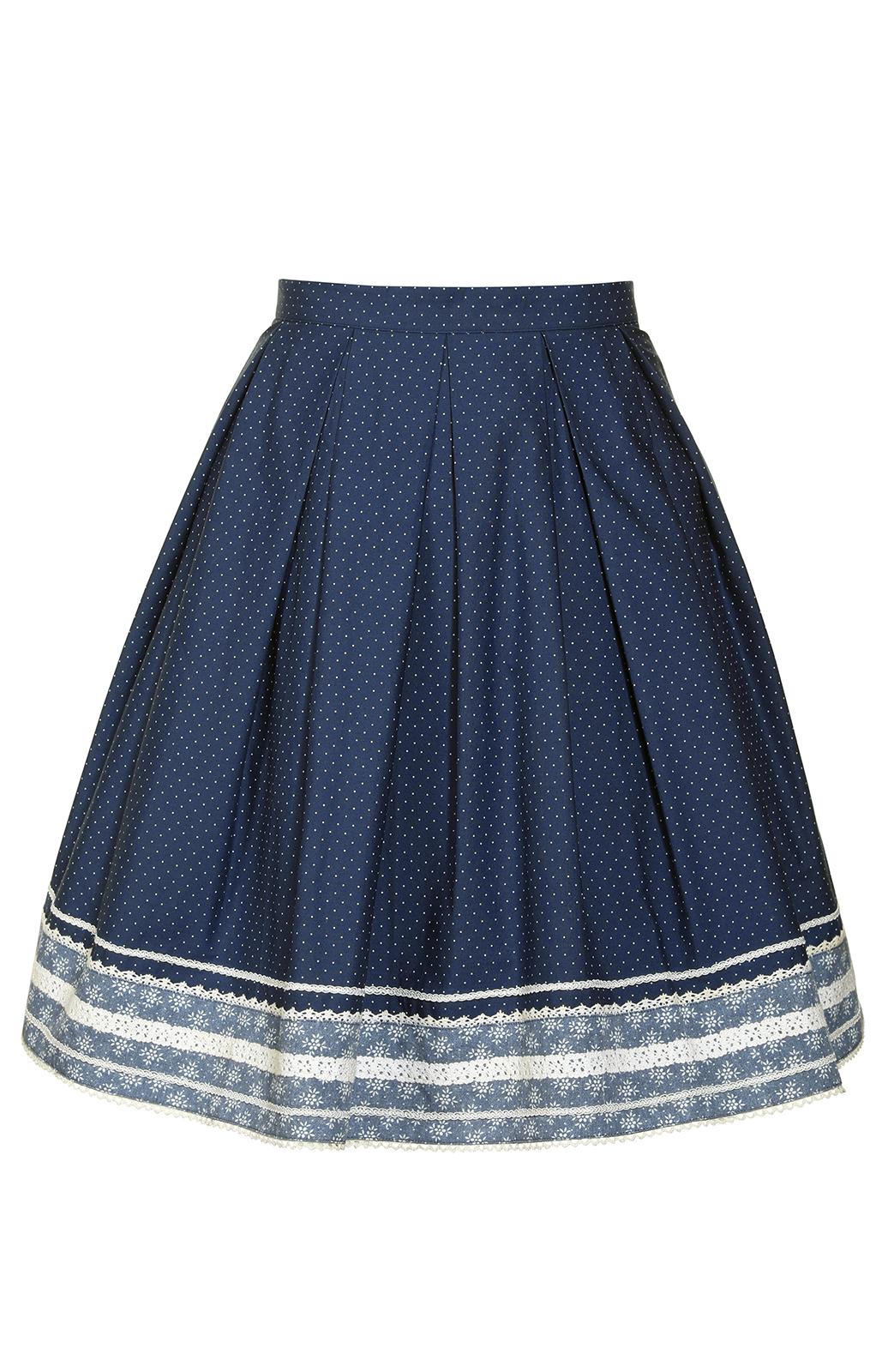weitere Bilder von Traditional skirt blu