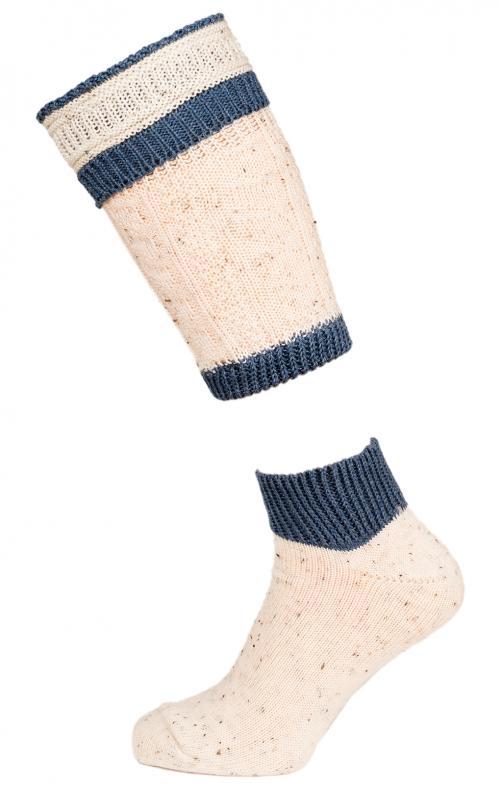 Traditional socks shirt CS510 natura blue
