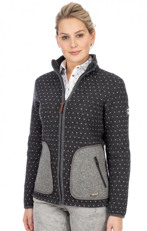Tracht Jackets 371301 antracite gray