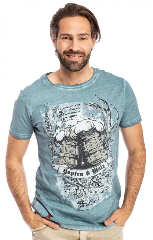 T-Shirt KALLE blau