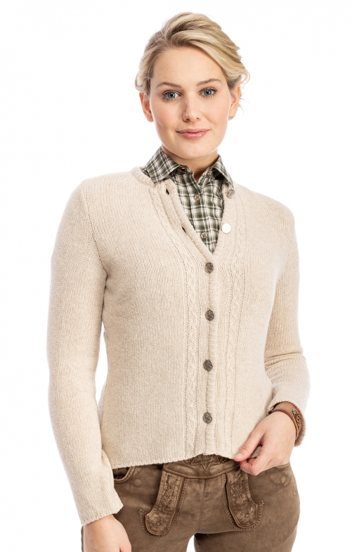 Strickjacke LISA6 beige