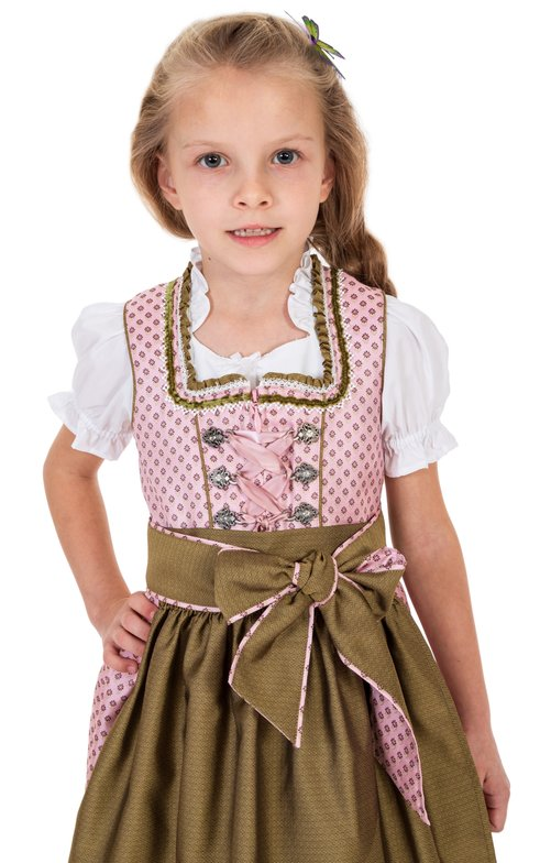 Traditional Children dirndl 46511-33 pink