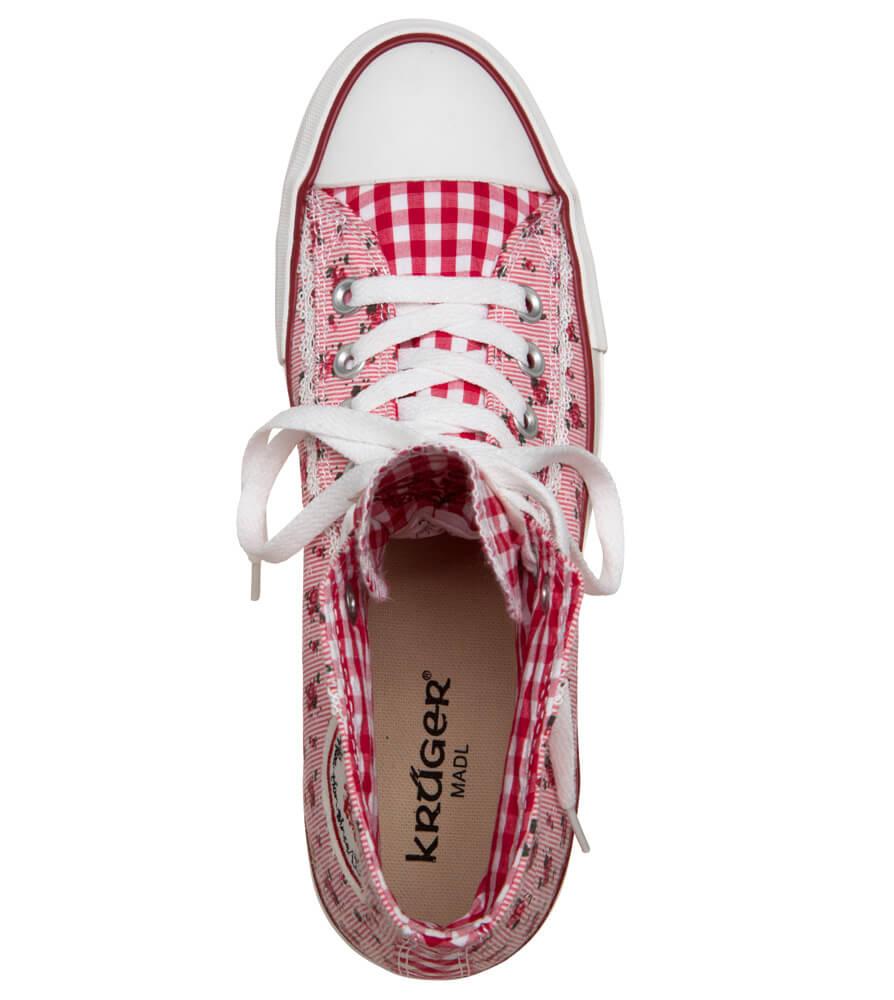weitere Bilder von Trachtenschuhe Sneaker rot
