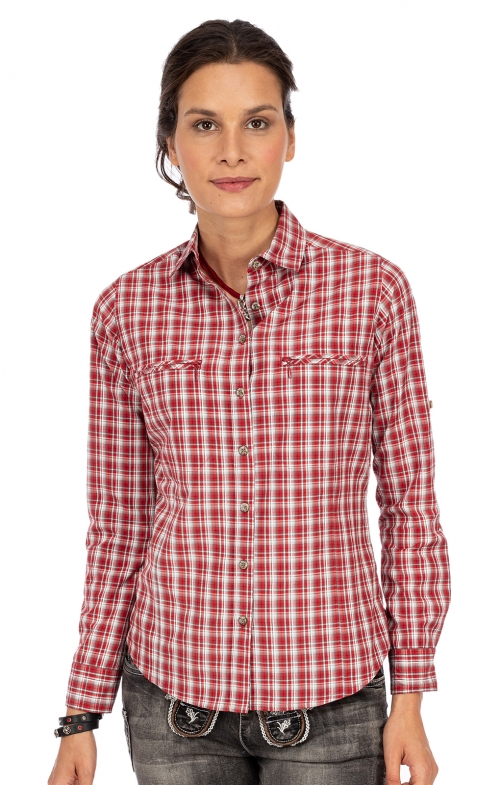 Bluse 440000-3877-34 rot