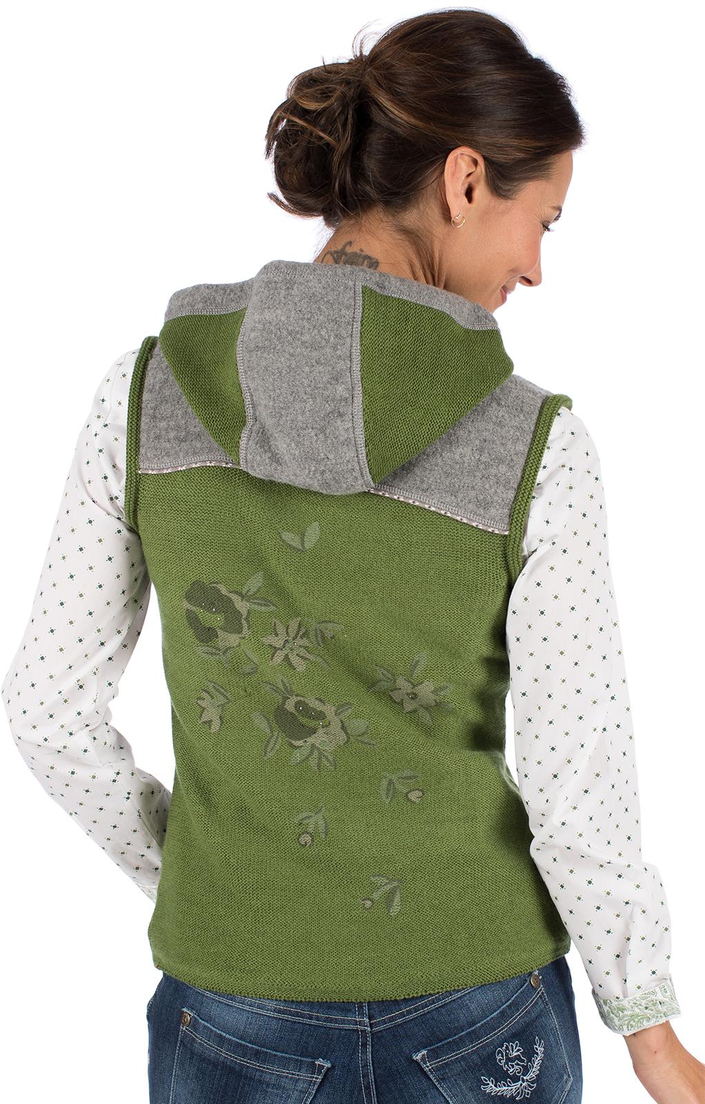 weitere Bilder von Knitted vest GRAIN green