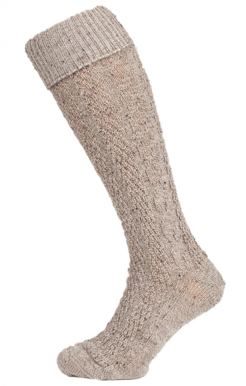 Traditional knee socks 54061 mocca