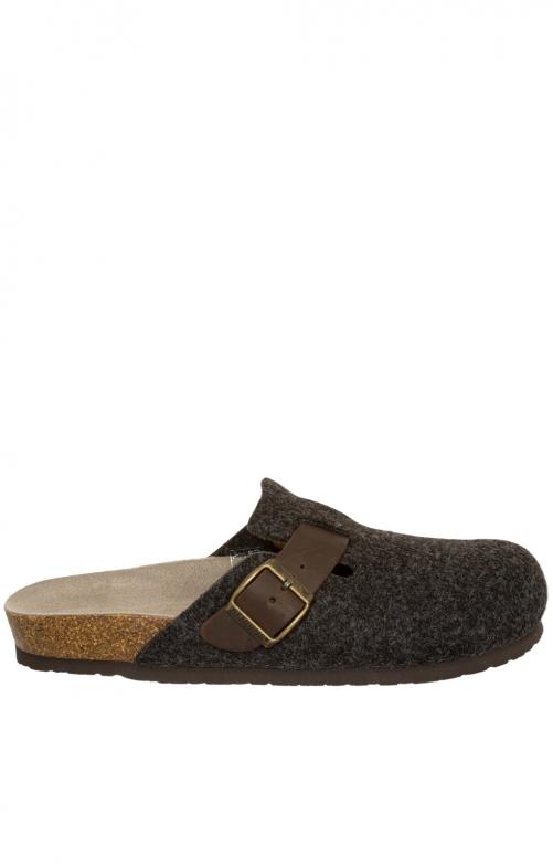 Pantoffeln G101553 RIVA braun