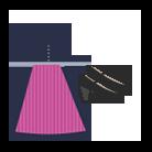 Hochgeschlossenes Dirndl: Das Outfit