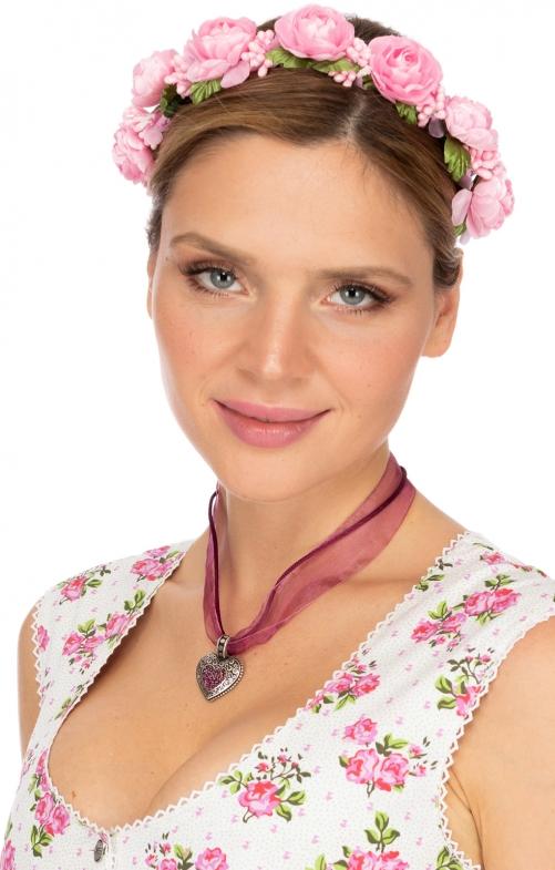 Hair- and Hat accessories ROSALINA rosa