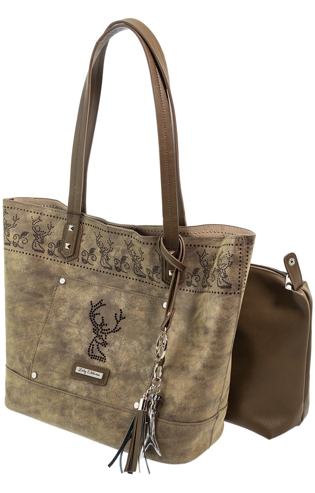 weitere Bilder von Trachtentasche Schopper 17010 antikbraun