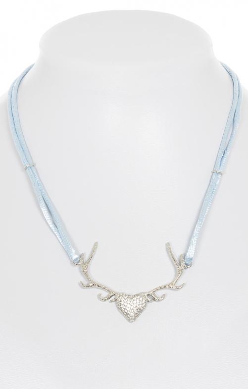 Halskette 71604-81 hellblau