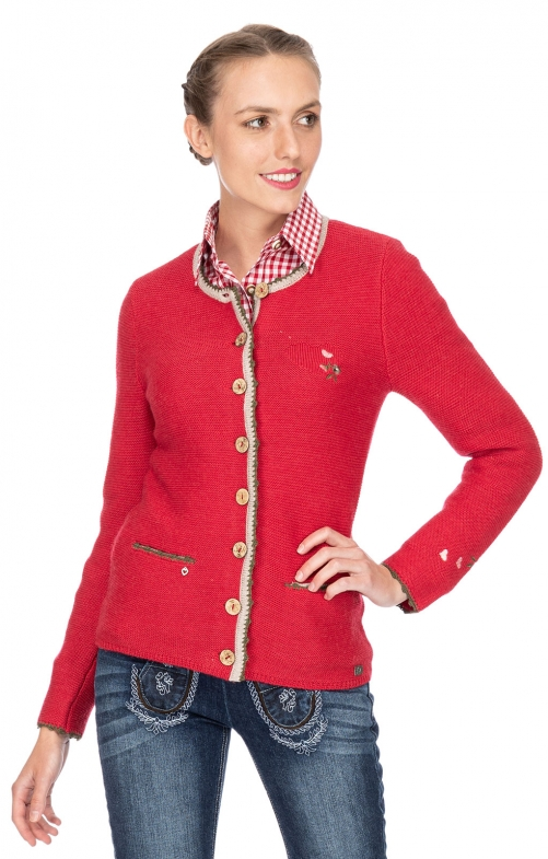 Traditional Jackets MOSEL red