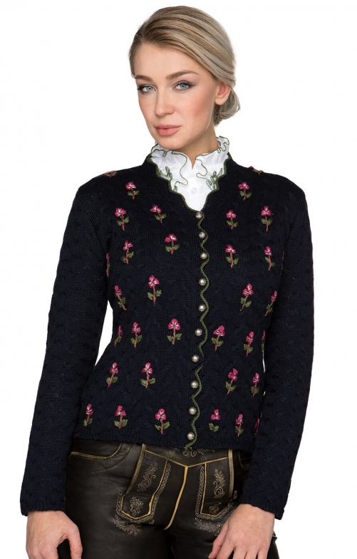 Traditional Cardigan MARLENE blue