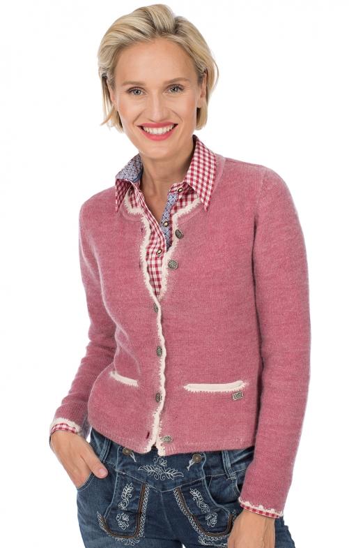 Traditional Cardigan HORGAU pink
