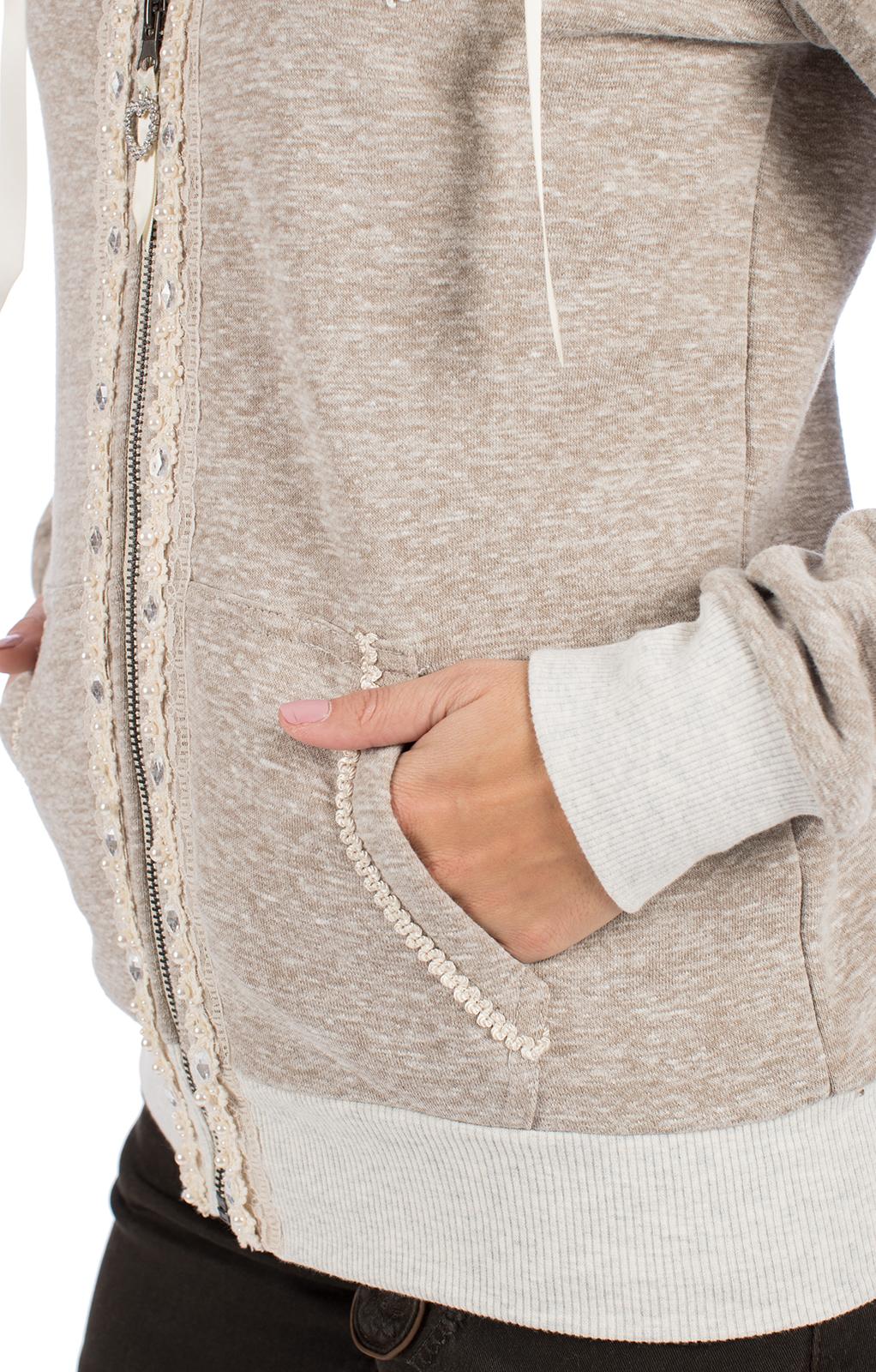 weitere Bilder von Giacca in maglia FABRICE-BINJA beige