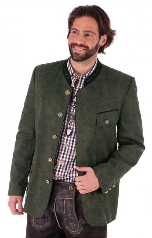 German traditional jacket Joscha green
