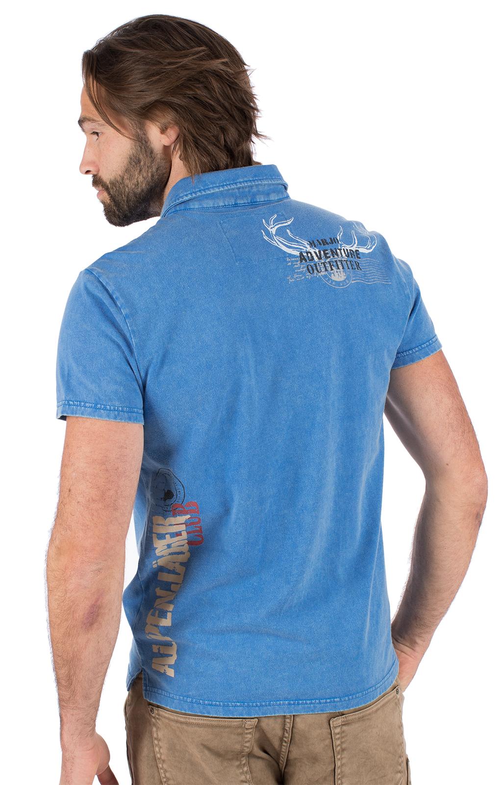weitere Bilder von Trachten T-Shirt E09 - ALPENJAEGER blau