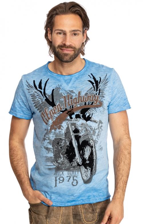 T-Shirt TILL blau