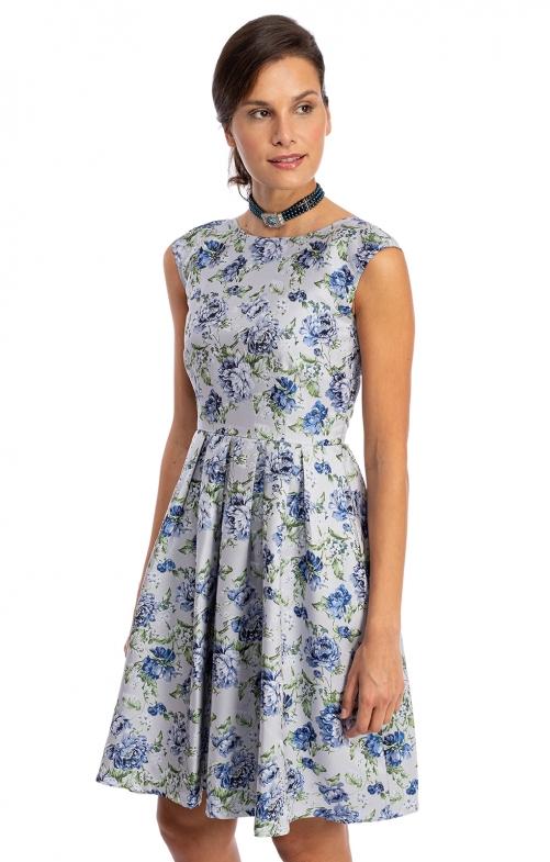 Kleid ANGE blau