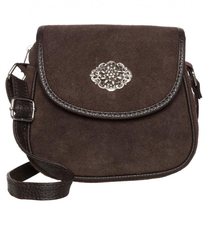 Traditional dirndl bag TA3000-8584 brown