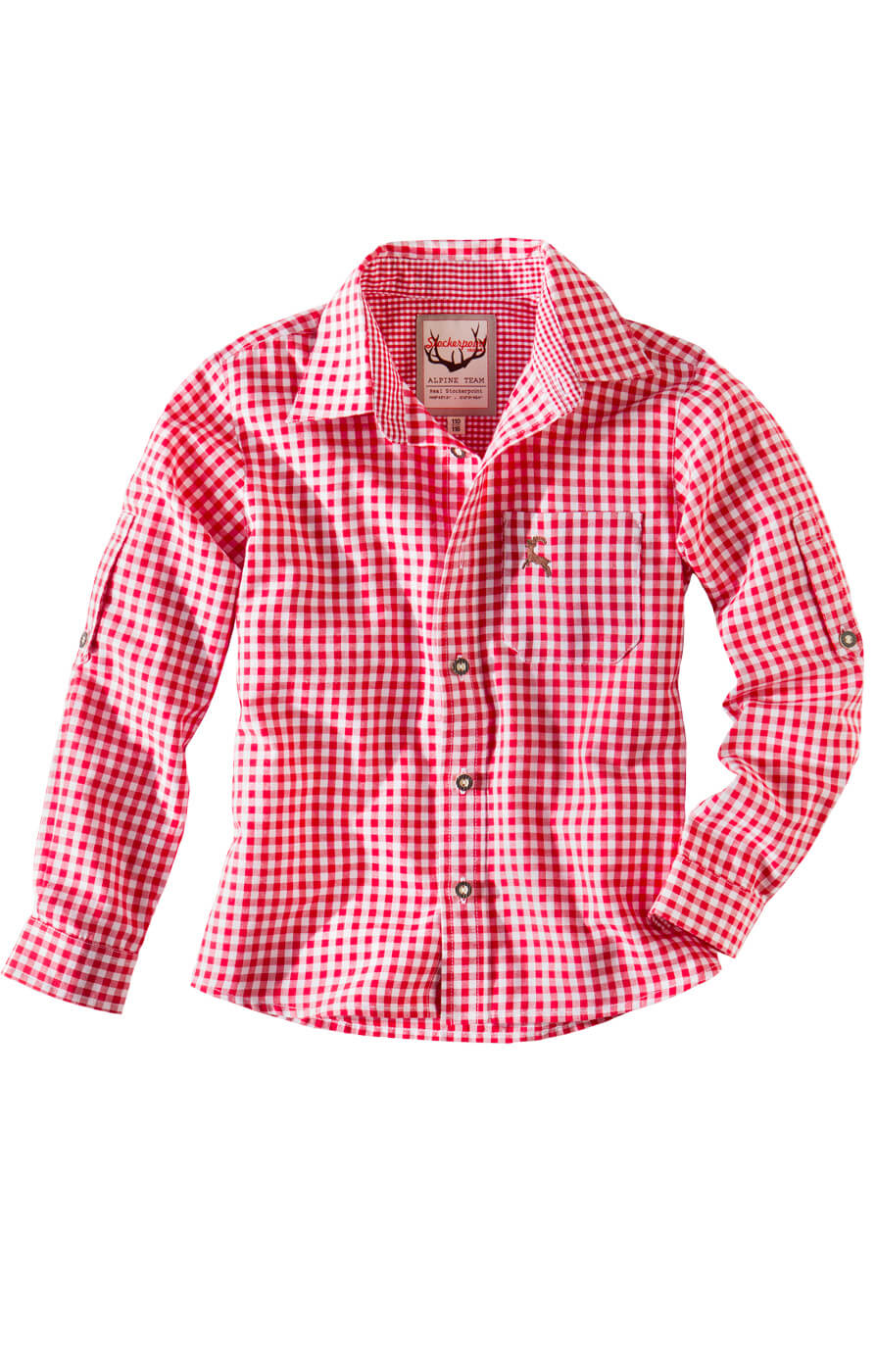 weitere Bilder von Children traditional shirt Bob red